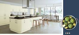 Vivo Ivory High Gloss Kitchen image