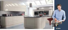 Vivo Gloss Cashmere High Gloss Kitchen image