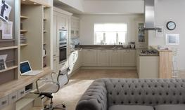 Milbourne Almond Kitchen - Elite Trade and Contract Kitchens Ltd