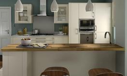 Porter Alabaster Kitchen - Elite Trade and Contract Kitchens Ltd