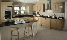 Milbourne Oak Kitchen image