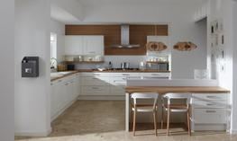Milbourne Chalk Kitchen - Elite Trade and Contract Kitchens Ltd