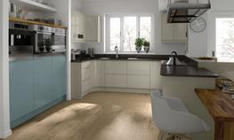 Remo Silver Grey Kitchen - Elite Trade and Contract Kitchens Ltd