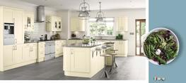 Cartmel Ivory Kitchens Matt Kitchen image
