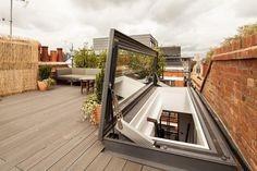Skydoor Hinged Access Rooflight - Glazing Vision Ltd