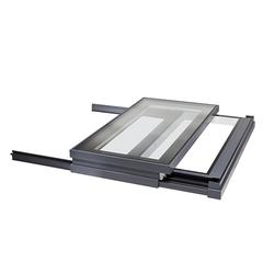 Sliding skylights add something indefinably special to a room, especially when you can open up almost the entire ceiling space to the outdoors, delivering a constantly changing environment within your building at the touch of a button.  Our Sliding Over Roof u...