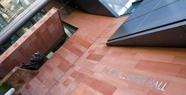 Corsehill Fine Grained   Pink and Red   Sandstone image