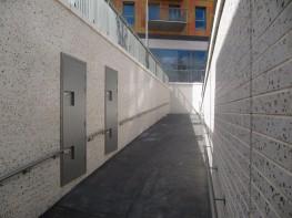 Rathbone Market - Phase 2 using Lignacite Roman Brick