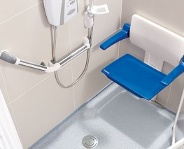 SlimFold Shower Seat - Impey Showers