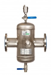 SS Magvent Air, Dirt & Magnetite Separator. Air, Sludge, or Magnetite Sludge and Dirt Removal from Heating / Chilled Water Systems. Air Magnetite Sludge and Dirt in heating and chilled water systems can be the cause of major problems such as pump failure, corr...
