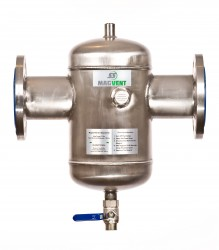 SS Magvent Dirt & Magnetite Separator. Magnetite Sludge and Dirt Removal from Heating / Chilled Water Systems. Magnetite Sludge and Dirt in heating and chilled water systems can be the cause of major problems such as pump failure, corrosion and energy loss. Th...
