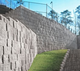 Anchor Landmark® - High performance positive mechanical connection retaining wall system image