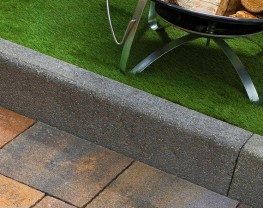 Bullnose Kerbs - Durable and hard wearing kerbs for high density use image