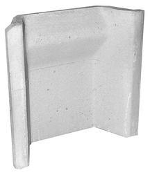 450mm milner scored clay fireback - Isokern Pumice image