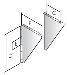 Wall Support Side Plates - ICID Plus image