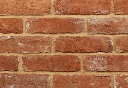 """The 2½"""" Reclamation Georgian is a high quality solid handmade brick with colours ranging from plum to oranges and reds.  These attractive facing bricks undergo an ageing process to give them an identical appearance to genuine reclaimed bricks of the Georg..."""