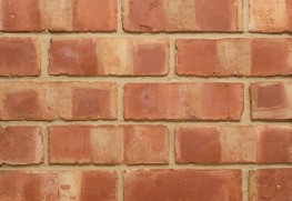 The 3″ Pre War Banded Wirecut displays characteristic pale banding through the clay body of this solid brick.