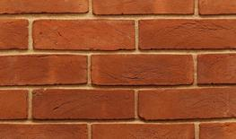 An exclusive soft red handmade brick commonly known as a 'Red Rubber'.