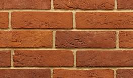 """Our 2½"""" Georgian is a high quality solid handmade brick displaying a colour spectrum ranging from plum to oranges and soft reds.  This type of brick was historically used across Middle England, the Home Counties and East Anglia in towns and rural areas th..."""