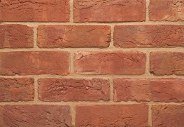 "The 3"" Handmade is a rustic red multi handmade brick which perfectly matches bricks historically found on traditional buildings around the Midlands and North of England.