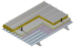 Kalzip Low U-value Liner Roof System - U-value 0.09 image