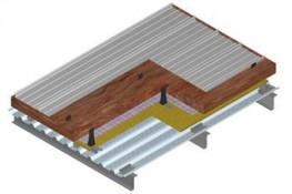 Kalzip Acoustic Liner Roof System - U-value 0.18 by Kalzip