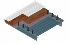 Kalzip Acoustic Liner-Deck Roof System - Rw value 49dB by Kalzip