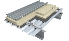 Kalzip Acoustic Liner Deck Roof System Rw Value 49db By