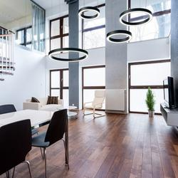 The Biscari is an modern LED pendant light suitable for a myriad of applications. Available in 2 different sizes. Available in White, Grey, Black, Red, Yellow, Blue, Green and Rust colours. Black by default....