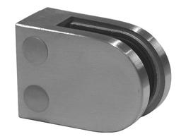 D-Shaped Glass Clamp - GC104-FS   image