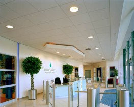 Thermatex Fine Stratos 600 mm x 600 mm VT 24 - Knauf AMF Ceilings