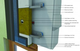 EWI - External Wall Insulation Cavity Rail System with Render for timber and steel frame construction - JUB Systems UK Limited