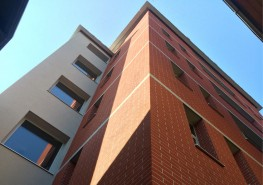 EWI - External Wall Insulation with a Brick Effect Render System image