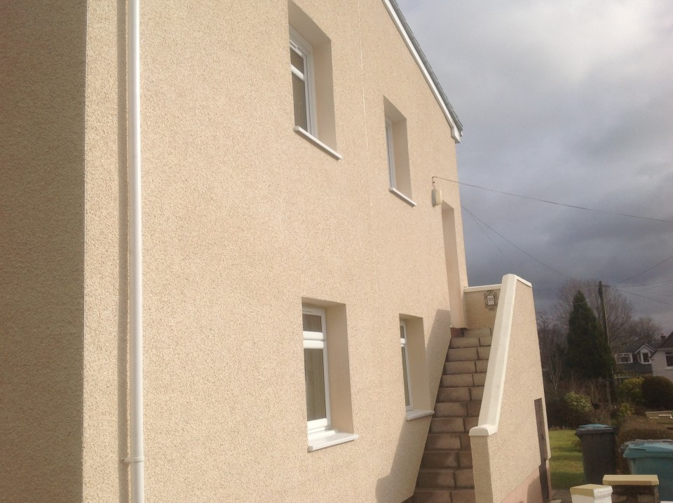 EWI - External Wall Insulation and Dash Render System by JUB