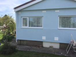 Park Home EWI External Wall Insulation and Render System - JUB Systems UK Limited