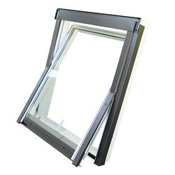 The DURO collection is a range of centre pivot windows with an elegant handle that enables passive ventilation in two different secondary locking positions. DURO windows can be installed in a roof pitch from 15 to 90 degrees. The aluminium-reinforced PVC prof...