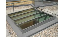 Fire rated roof light image
