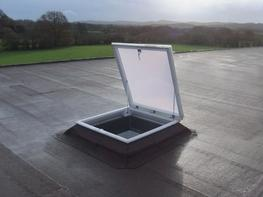 PROHATCH - with double skin dome and 150mm ECO splayed upstand image