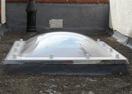 Retrofix Flat Roof Domes – Triple Skin Polycarbonate image