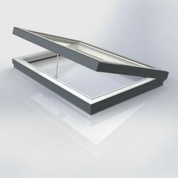 Flat Glass Manually Vented Rooflight image