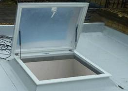 Outlook Access Hatch – Double Skin Polycarbonate image