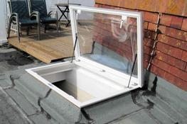 Outlook Access Hatch – Triple Skin Polycarbonate image