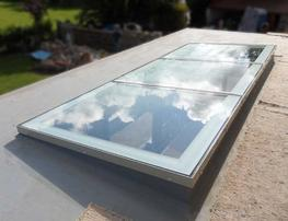 Flat Glass Fixed/Unvented Multi-Section Rooflight image