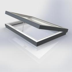 Flat Glass Manually Vented Triple Rooflight image