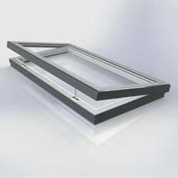 Flat Glass Electrically Vented Triple Glazed Rooflight image