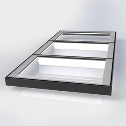 Flat Glass Fixed/Unvented Multi-Section Triple Glazed Rooflight image