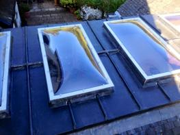 Without An Upstand (Fixed/Non Vented) – Bespoke Polycarbonate Roof Domes image