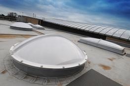 Without An Upstand (Fixed/Non Vented) – Bespoke Polycarbonate Thermo-Formed Barrel Vaults image