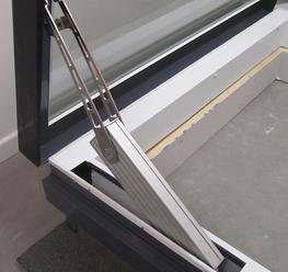 Flat Glass Electrical Access Rooflight image