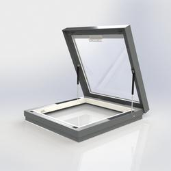 Flat Glass Manual Access Rooflight image